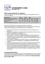 NYHEDSBREV 4/2008 - Foreningen af Radiografer i Danmark