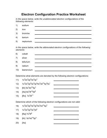 Printables Electron Configuration Practice Worksheet electron configuration practice worksheet 1 sodium intrepidpath jpg quality 80
