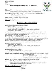 2010 Planlægningsdag 24 april - Spejdernet