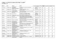 Classe 3A - Liceo Classico Statale