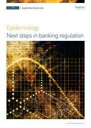 Epidemiology Next steps in banking regulation - Hermes Pensions ...