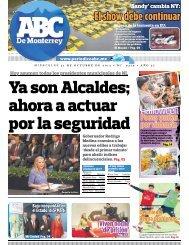 Ya son Alcaldes; ahora a actuar por la seguridad - Periodicoabc.mx