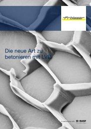 Die neue Art zu betonieren mit LVB - Fritz Blaser AG