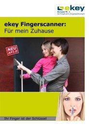 ekey Fingerscanner: Für mein Zuhause - AFS