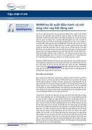 NHNN hạ lãi suất điều hành và nới lỏng cho vay bất động sản