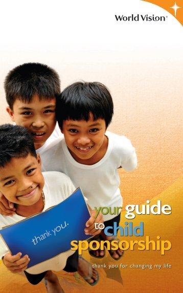 A4 For Current Sponsors (Sponsorship Manual)