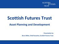 Asset Planning and Development - Health Facilities Scotland