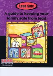 A guide to keeping your family safe from - The LEAD Group Inc
