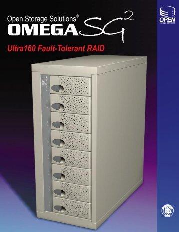 Ultra160 Fault-Tolerant RAID - Open Storage Solutions
