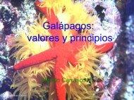Galápagos: valores y principios