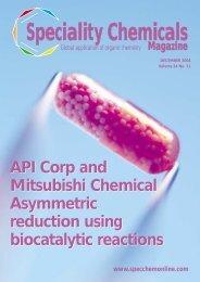 API Corp and Mitsubishi Chemical Asymmetric reduction using ... - nifty