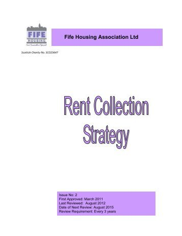 Rent Collection Strategy.pdf - Fife Housing Association