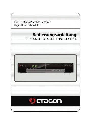 Bedienungsanleitung - Octagon-Germany.eu