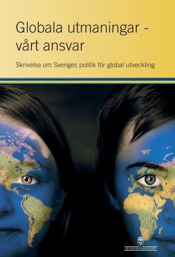Sveriges politik för global utveckling - Regeringen