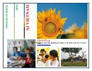 SJ Vietnam 2010 Work camps Calendar