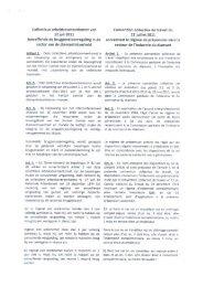 Collectieve arbeidsovereenkomst van - ACV Transcom