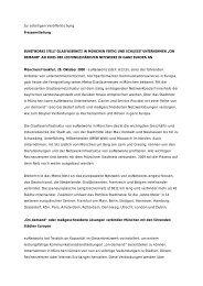 Zur sofortigen Veröffentlichung Pressemitteilung EUNETWORKS ...