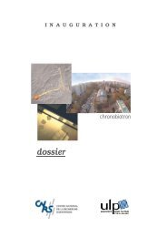 Dossier de presse - CNRS