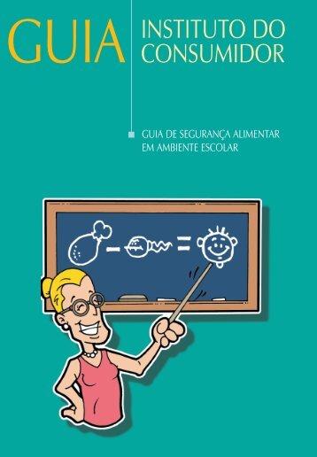 Segurança Alimentar nas Escolas - Site de Apoio - Fernando Martins