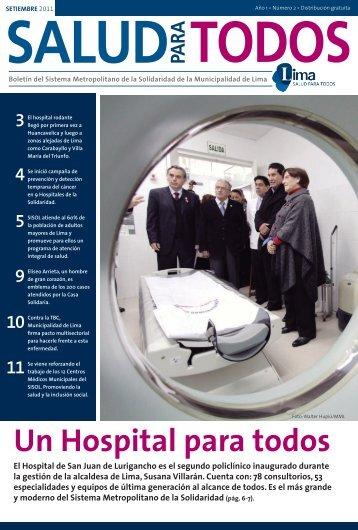 Un Hospital para todos - Sistema Metropolitano de la Solidaridad ...