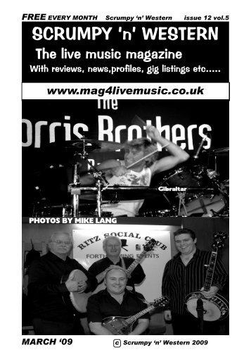 MARCH 27th - Mag 4 Live Music