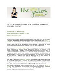 the little gallery - Igedo Company