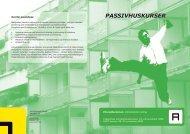 Kursus i passivhusplanlægning - Arkitektforbundet