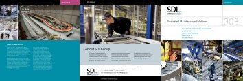 Maintenance Brochure - SDI Group