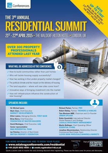 Residential Summit 4pp Brochure web