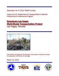 Downtown Las Vegas Multi-Modal Transportation Project Las Vegas ...