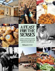 A feast for the senses - Bologna Welcome
