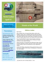 Newsletter April 2011 - Ipms-sg.ch