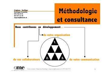 Le Team Building - Stéphane Haefliger Sociologue