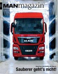 MANmagazin Ausgabe Truck 1/2014