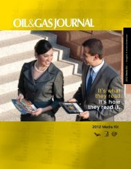 It's what they read. It's how they read it. - Oil & Gas Journal