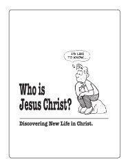 Who is Jesus Christ - Nueva Vida En Cristo