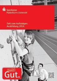 Informationen zur Ausbildung bei der Sparkasse Paderborn ...