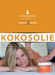 Kokosolie Nederlands - Witsenburg Natural Products BV
