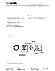 6mm FLANGE BASED LED LAMP Package Dimensions Description ...