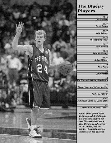 Pages 17-25 - Creighton University Bluejays