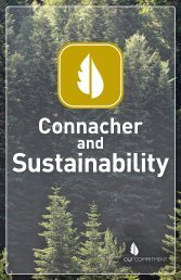 to view a PDF of Connacher's 2011 Sustainability Report