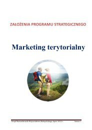 Marketing terytorialny - Województwo Małopolskie