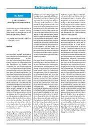 Rechtsprechung - Forum Strafvollzug