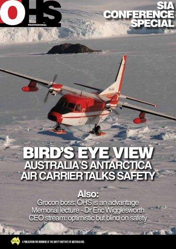 Bird'S eye view - Safety Institute of Australia