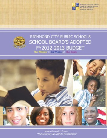 FY2012-2013 Adopted Budget - Executive Summary - Richmond ...
