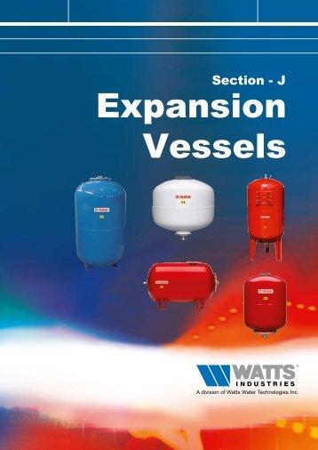 Expansion Vessels