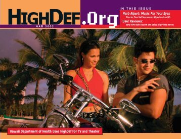 Apr-Jun 2002 Low Bandwidth - highdef magazine
