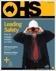 How to engage leaders on OHS - Safety Institute of Australia