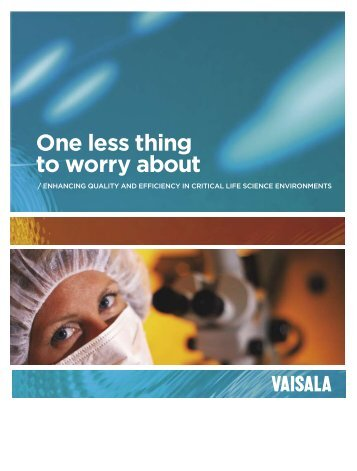 Life Science Brochure - Vaisala