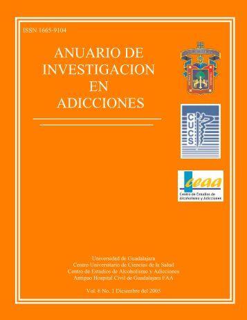 ANUARIO DE INVESTIGACION EN ADICCIONES - Centro ...